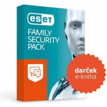 Najlacnejšie ESET Family Security Pack 4 lic. 18 mes.