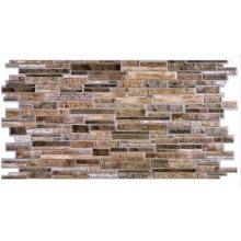 Najlacnejšie PVC panel D0002 Kameň Brown Platte