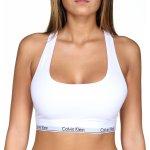 Najlacnejšie Calvin Klein F3785E Bralette Modern Cotton podprsenka športová biela