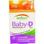 Najlacnejšie Jamieson Baby-D Vitamín D 400IU kvapky 11
